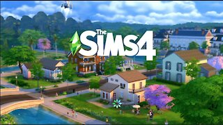 The Sims 4 Building & Gameplay on the PS4