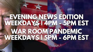 WATCH LIVE | Patriot News Outlet | Evening News | War Room Pandemic | 4PM EST | 8/3/2021