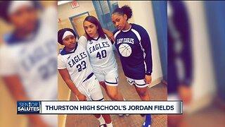 WXYZ Senior Salutes: Thurston High School's Jordan Fields