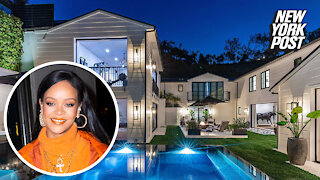 Inside Rihanna's new house— a $13.8M mansion in Beverly Hills