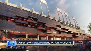 Albertsons renovation proposal