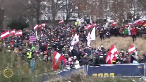 COVID-19 Lockdown Protests In Austria, Germany, And Greece