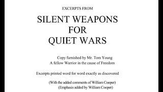 Silent Weapons Quiet War - UPDATE