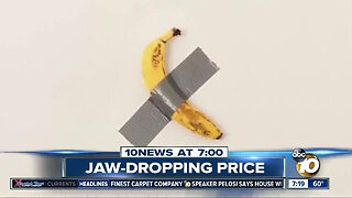 Banana duct taped to wall sold for $120k?