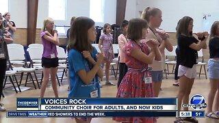 Voices Rock community choir is expanding