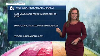 Rachel Garceau's Idaho News 6 forecast 6/9/21
