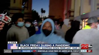 Black Friday underway as residents gather at Valley Plaza Mall