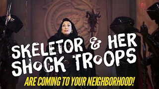 Skeletor and Her Shock Troops Are Coming to Your Neighborhood!