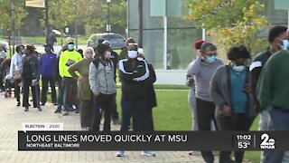 Morgan State sees big turnout for early voting