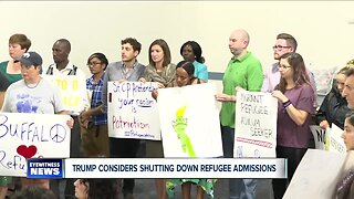 Refugee advocates urge Trump administration to refrain from considering shutting down refugee admissions