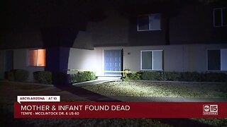 Woman, infant found dead in Tempe home