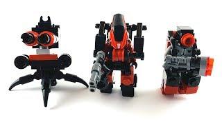 Lego Mech Suit Robot Trio | Lego MOC Tutorial
