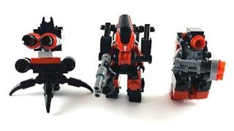Lego Mech Suit Robot Trio   Lego MOC Tutorial