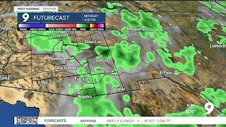 A better chance of rain returns next week