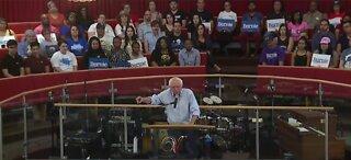 Sen. Bernie Sanders rallies in Las Vegas