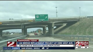 i-44 Bridge Replacement project at 33rd West Avenue