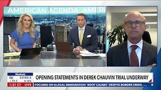 Opening Statements in Derek Chauvin Trial Underway