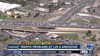 What's Driving You Crazy?: I-25 and Arapahoe interchange issue