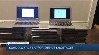 Schools face laptop, device shortages
