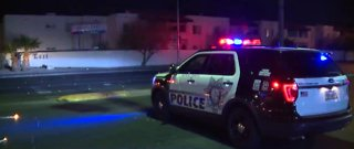 UPDATE: Woman dead after being hit by car in east Las Vegas
