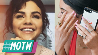Kylie Jenner TEASES Engagement With MASSIVE Diamond Ring! Selena Gomez's New BF REVEALED! | MOTW