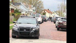 Scene of officer-involved shooting on East 134th Street