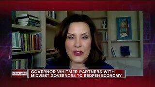Midwest governors announce partnership to reopen economy