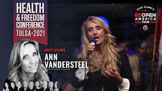 Ann Vandersteel Speaks at Clay Clark's Health and Freedom Conference