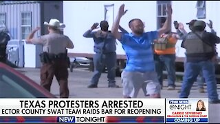 Texas bar owner, armed men arrested at reopening after standoff with police