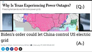 Is CHINA To Blame For Major Outages Across Power Grid? TEXAS Has Questions!