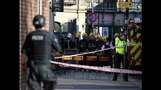 Alleged terrorist attack on London Underground Oxford station 2017