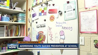 FINDING HOPE: Addressing youth suicide prevention at school