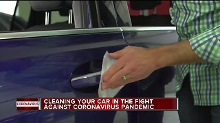 Cleaning your car in the fight against coronavirus pandemic