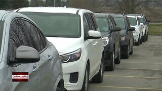 Zion Wayside holds parking lot Easter service