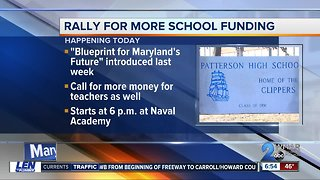 School funding rally expects large turnout in Annapolis