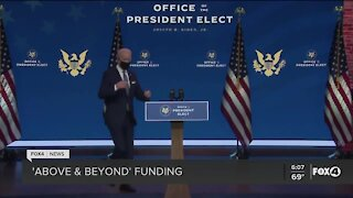 Biden asking for additional COVID relief