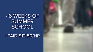 BPS incentive to graduate, paid to attend summer school