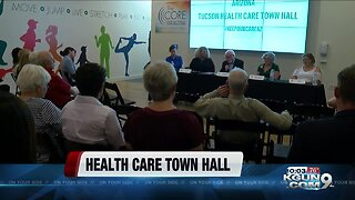 Community members share their health care concerns at health care town hall