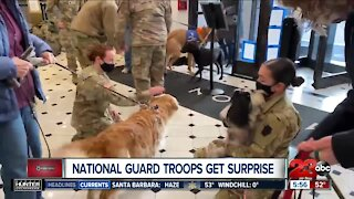 Check This Out: National Guard troops get some puppy love