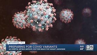 Doctors preparing for COVID variants