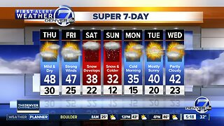 Another mild, dry day on Thursday