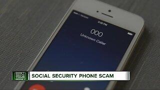 Social Security phone scam