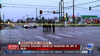 Denver police searching for suspect driver who struck pedestrian, fled the scene