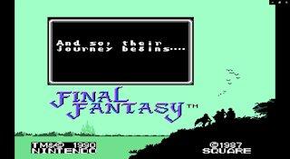 Final Fantasy 1987 NES (Gameplay)