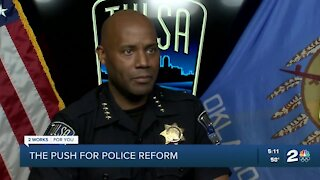 Tulsa police, TCSO address retention, recruitment obstacles