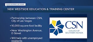 CSN's new Historic Westside education and training center