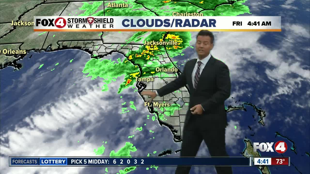 Showers and Storms Likely