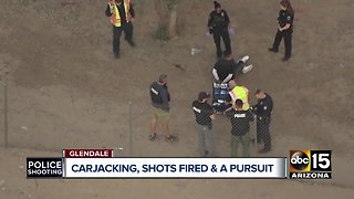 Two in custody following officer-involved shooting in Glendale