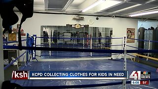 Police Athletic League hosts annual kids clothing drive