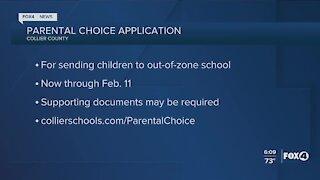 Collier county schools parent choice open